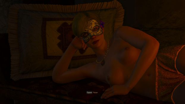 Witcher 3 Carnival Girl sexy by MillianaRose