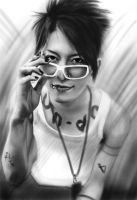 A sketching of MIYAVI by Yokie1214