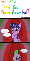 MLP Have You Been Arrested? by LoCeri