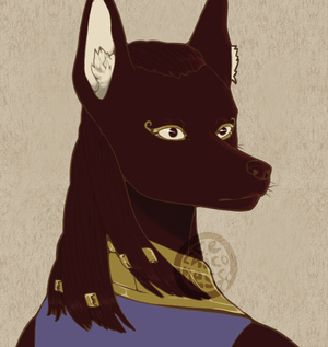 Anubis by LeChicoMess