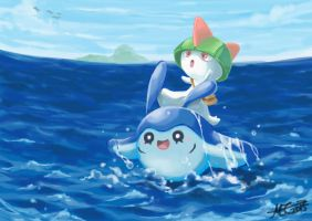 Ralts' Little Adventure