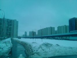 Moscow by BlackOfWinter