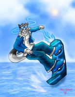Air board gear Wolf by BloodThirstyfang