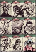 Marvel Masterpiece Cards set3e by BenHerrera