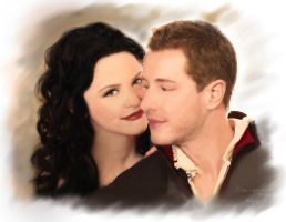 Snow White and Charming _Once Upon A Time... by kafryne