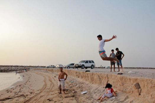 Jump and Fall. by FunTroon