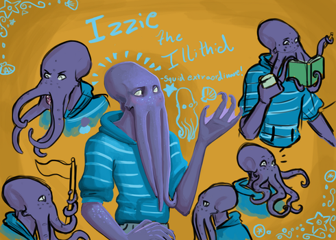 Izzie The Illithid! by wingsgirl